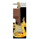 Stratocaster guitar retropeach-128