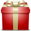 Gift Red Icon