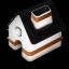 Home orange icon