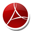 Round Adobe Reader icon