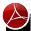 Round Adobe Reader icon