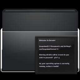 Black Folder Terminal