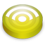 Rss lemon circle icon