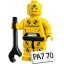 Lego Crash Test Dummy icon