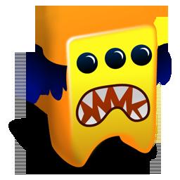 Orange Creature