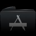 Folder black applications-128