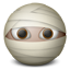 Mummy emoticon-64