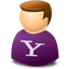 User web 2.0 yahoo Icon