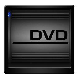 Black DVD Drive