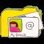 Folder y contacts icon