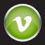 Chrome Vimeo Icon