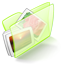 Dossier Green Pictures Icon