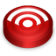 Rss red circle Icon
