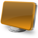 Computer orange-128