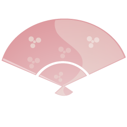 Fan Pink Icon Download Japanese Stuff Icons Iconspedia