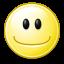 Gnome Face Smile icon