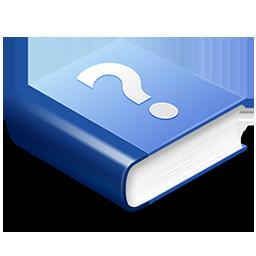 Blue Help Book