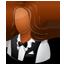 Waitress Female Dark icon