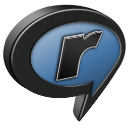 RealPlayer Black and Blue