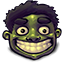 Happy Hulk Icon