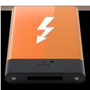 HDD Orange Thunderbolt W-128