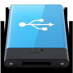 HDD Blue USB W