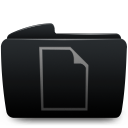 Folder black documents