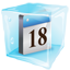 Date Icon Ice-64