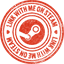 Steam stamp icon