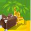 Travel management icon