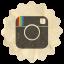 Retro Instagram Icon