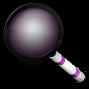 Magnifier purple-128
