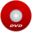 DVD Red icon