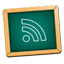 BlackBoard Feed Green Icon