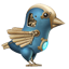 Steampunk Twitter Bird icon