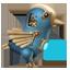 Steampunk Twitter Bird-64
