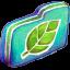 Leafie Green Folder Icon