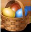 Easter Eggs Basket-64