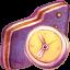 In Progress Violet Folder Icon