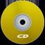 CD Yellow icon
