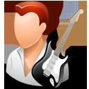 Guitarist Male Light-128