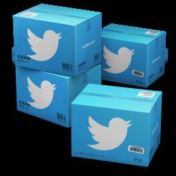 Twitter Shipping Box