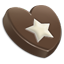 Chocolate Star Icon