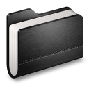 Library Black Folder-128