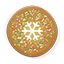 Christmas Snow Cookie Icon