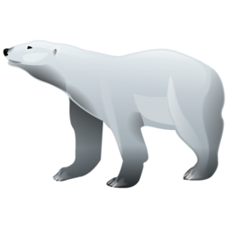 Polar Bear Icon Download Brilliant Animals Icons Iconspedia