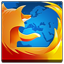 Firefox square icon