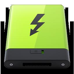 HDD Green Thunderbolt
