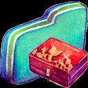 Personal Storage Green Folder-128