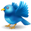 Fly away twitter Icon